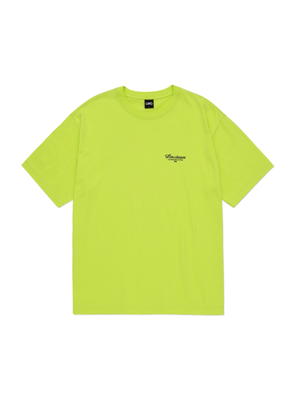 LMC TEAM EARTH ORGANIC TEE light green